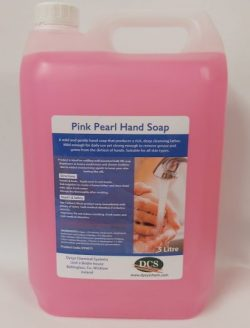 Pink Pearl Luxury Hand Soap