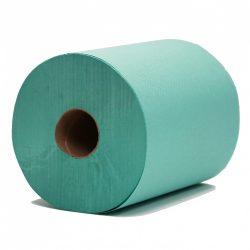 Green Wiper Roll Selco