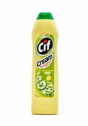 CIF cream cleaner