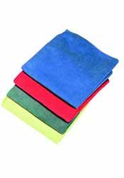 coloured cloths