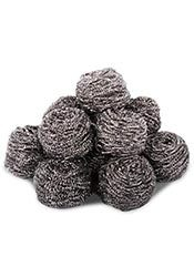 Stainless Steel Scourers 10 pack