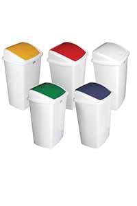 swing bin coloured