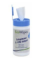 Telephone and Computer VDU Wipes