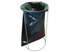 wire bin bag holder