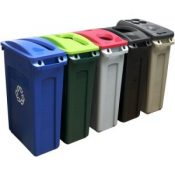 school waste bins