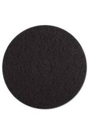 17 black floor stripping pads