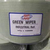 Green 1500mt industrial Roll Adapt Paper