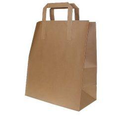 Brown Kraft Carrier Bags Selco