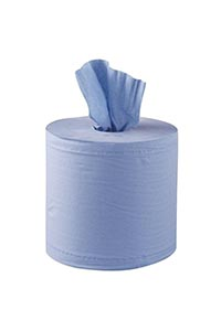 Centre Feed Rolls Blue 3 Ply