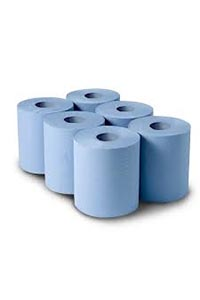 Centrefeed roll wipes