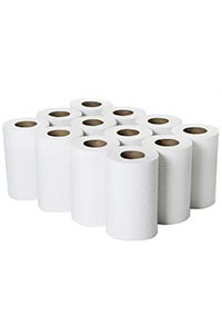 Mini Centre Feed Rolls White