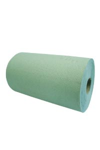 roller hand towels green