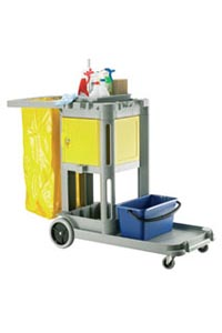 trolley with safe box
