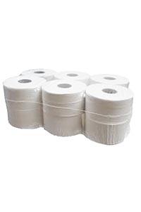 12 Mini Jumbo Toilet Rolls