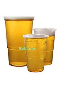 Disposable Plastic Half Pint Glass