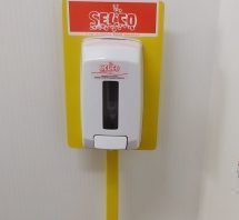Sanitiser station selco