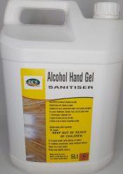 Hand Sanitiser Alcohol Gel Dysys
