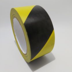 Floor Tape Yellow Black Covid