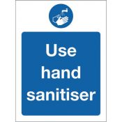 wall signs wash hands