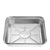 Large foil tray