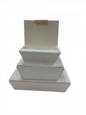 No.12 kraft Biobox containers (34oz) (6x40`s)
