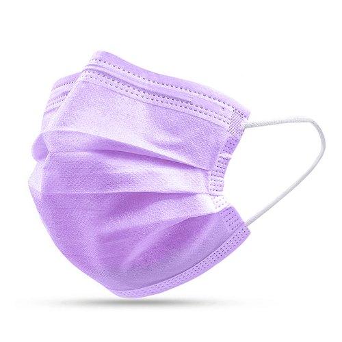 Purple Face Masks Selco Healthcare