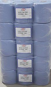 Blue Wiper Roll Deal 30 Rolls
