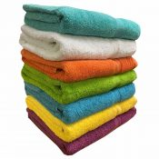 Luxury Bath Towels Coloured Deluxe Selco Hygiene